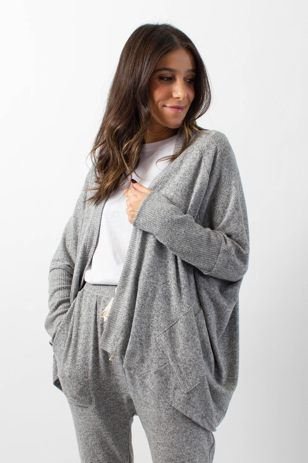 Soft-Feel Lounge Cardigan