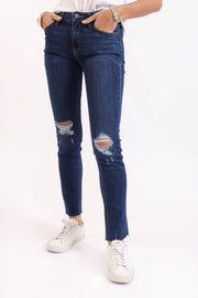 Destroyed Scissor Cut Jean