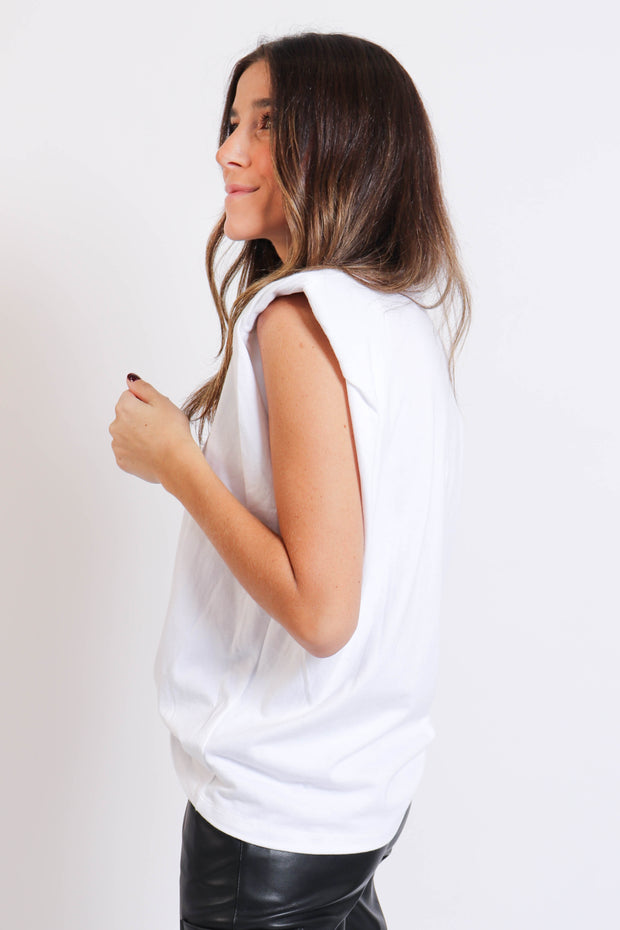 Basic Padded Shoulder Tank