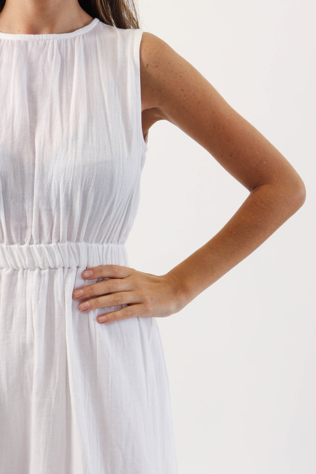 Open Back Gauze Dress