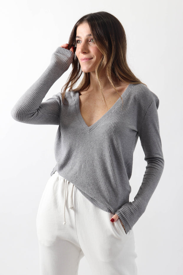 Soft Rib Knit Top