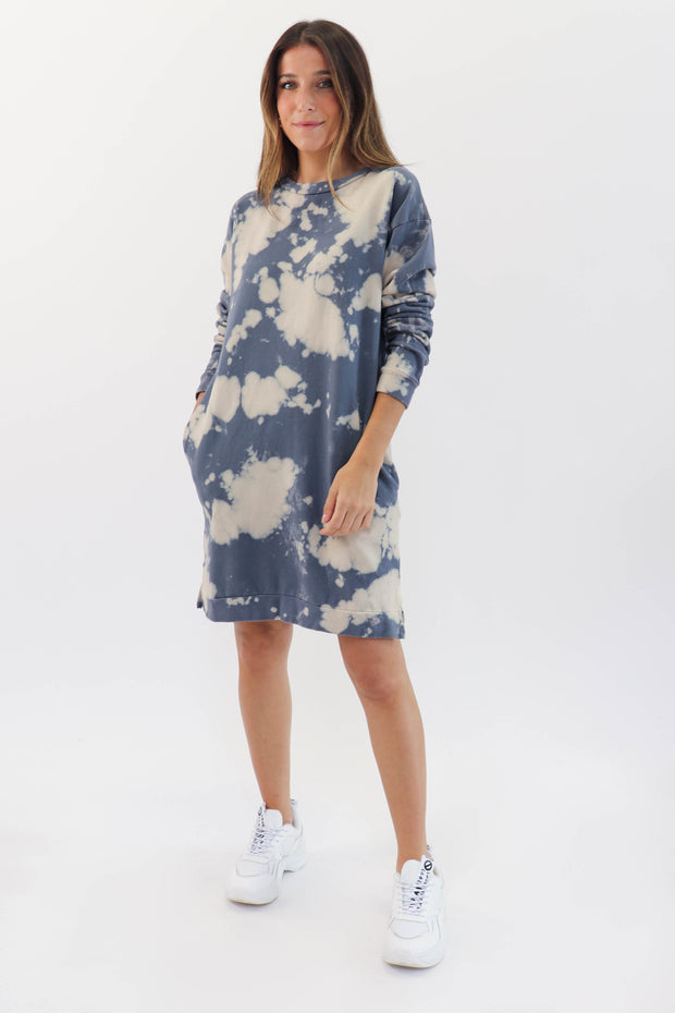 Tie Dye Sweat Dress