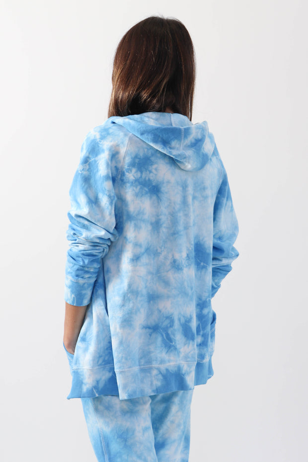 Blue Skies Zip-Up Hoodie