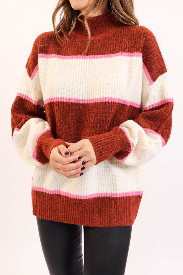 Terracotta Knit Sweater