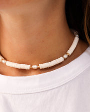 Cream Necklace