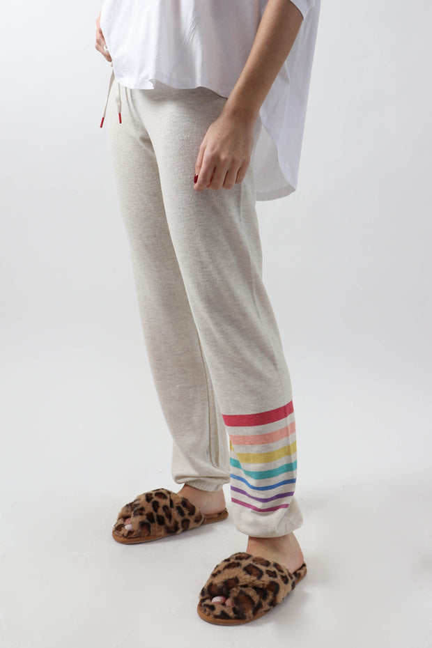Rainbow Stripe Lounge Pants