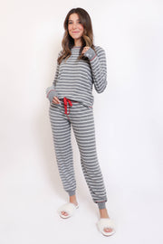 Joyful Stripe PJ Set