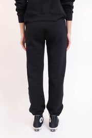 Black Organic Fleece Jogger