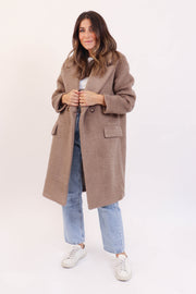 Sugar Brown Teddy Coat