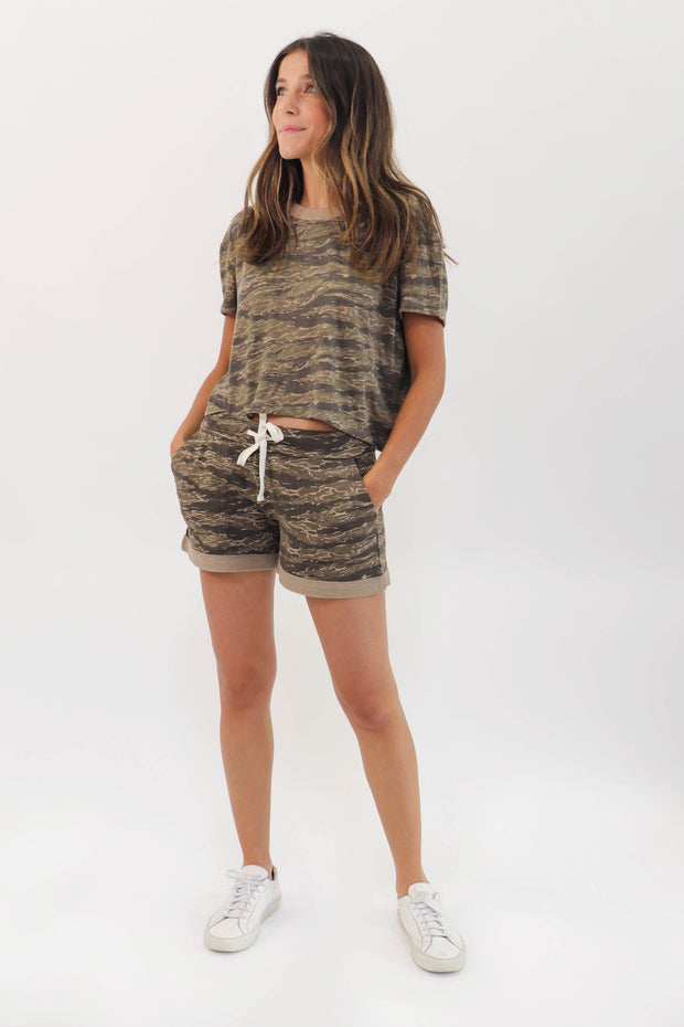Soft Camo Short Set