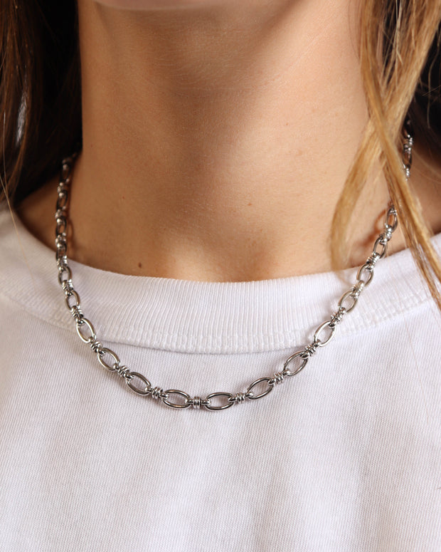 Silver Nala Necklace