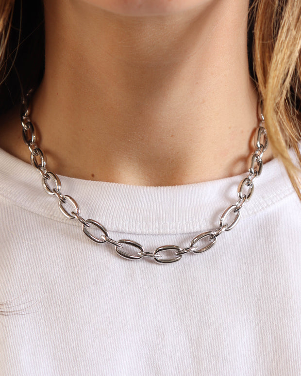 Silver Chloe Necklace