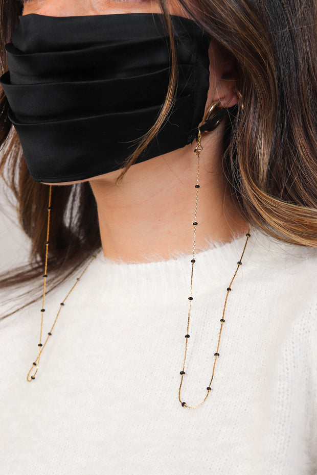 Snake Eyes Mask Chain