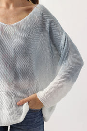 Gradient Knit Sweater