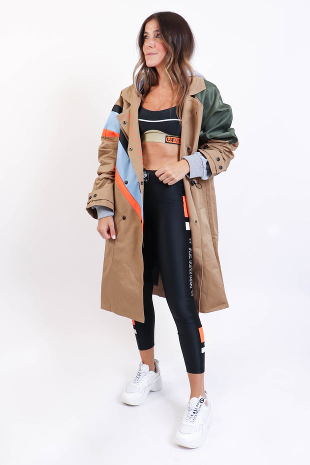 Carabiner Sports Trench Coat