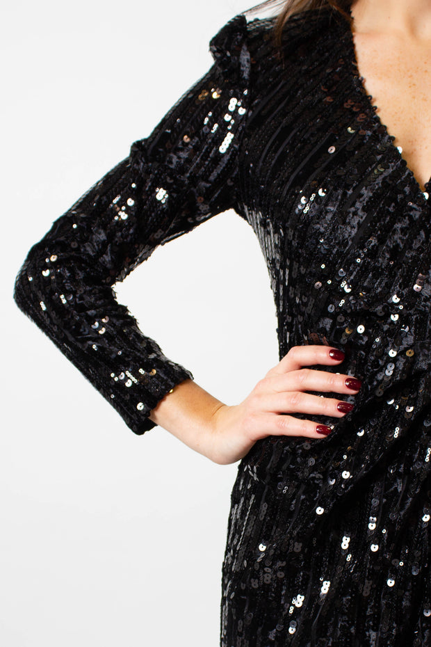 Shine Bright Sequin Dress