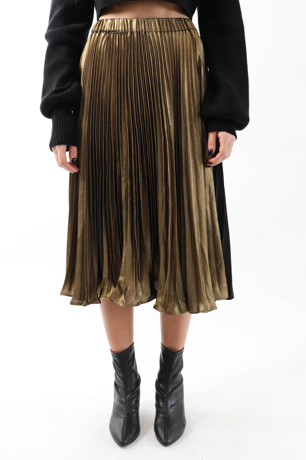 Just Golden Skirt