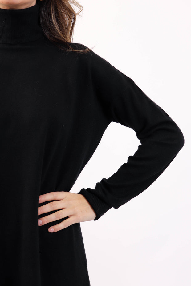 Soft Basic Turtleneck Sweater