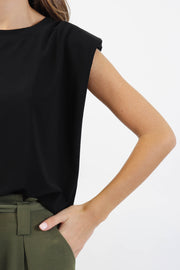 Riri Padded Shoulder Jersey Tee
