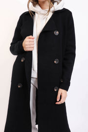 Black Sweater Coat