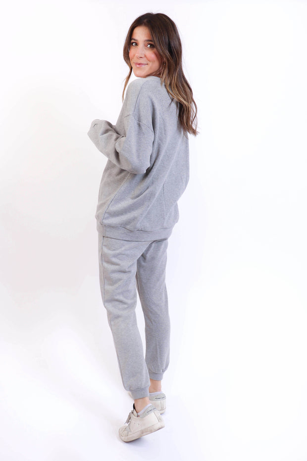 Heather Grey Sweatsuit