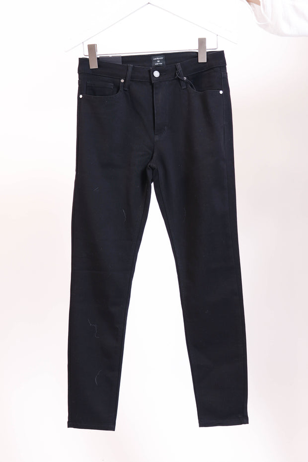 Skinny Stretch Black Denim