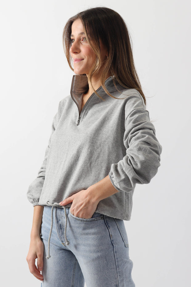 Basic Half-Zip Sweater