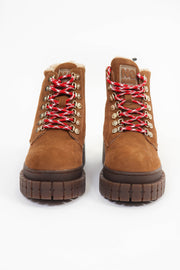 Cognac Kross Low Boots