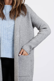 Grey Jimmi Sweater Jacket