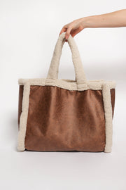 Teddy Tote in Camel