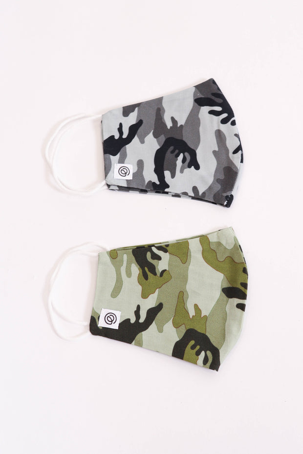 Non-Medical Grade Camo Face Masks