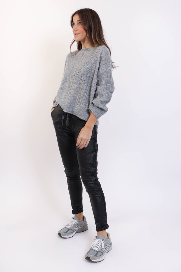 Light Grey Thin Knit