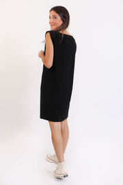 Riri Padded Shoulder Dress