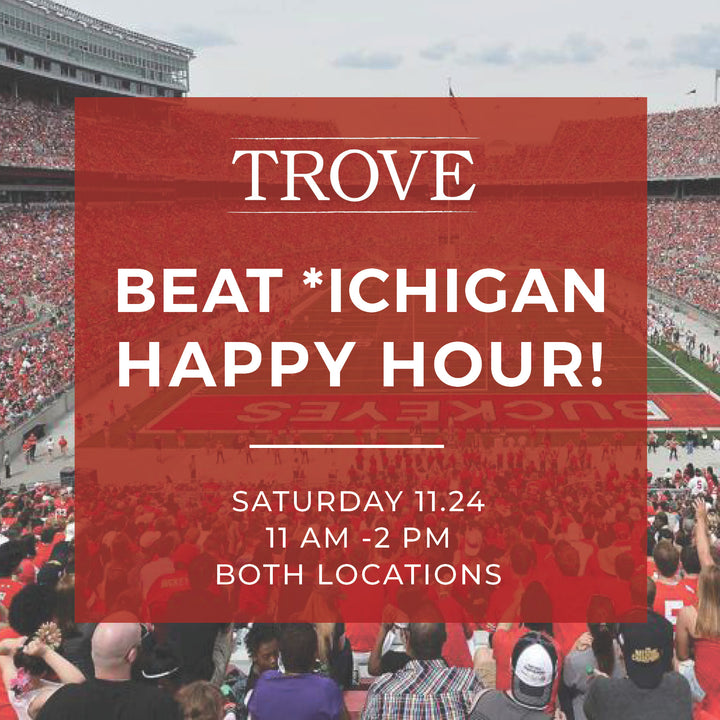 Beat Michigan Tailgate Happy Hour