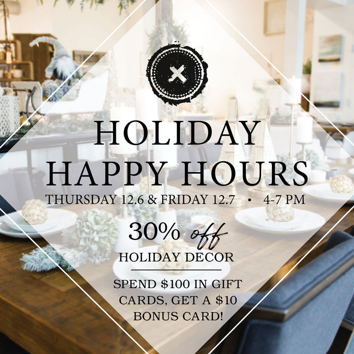 Holiday Happy Hours