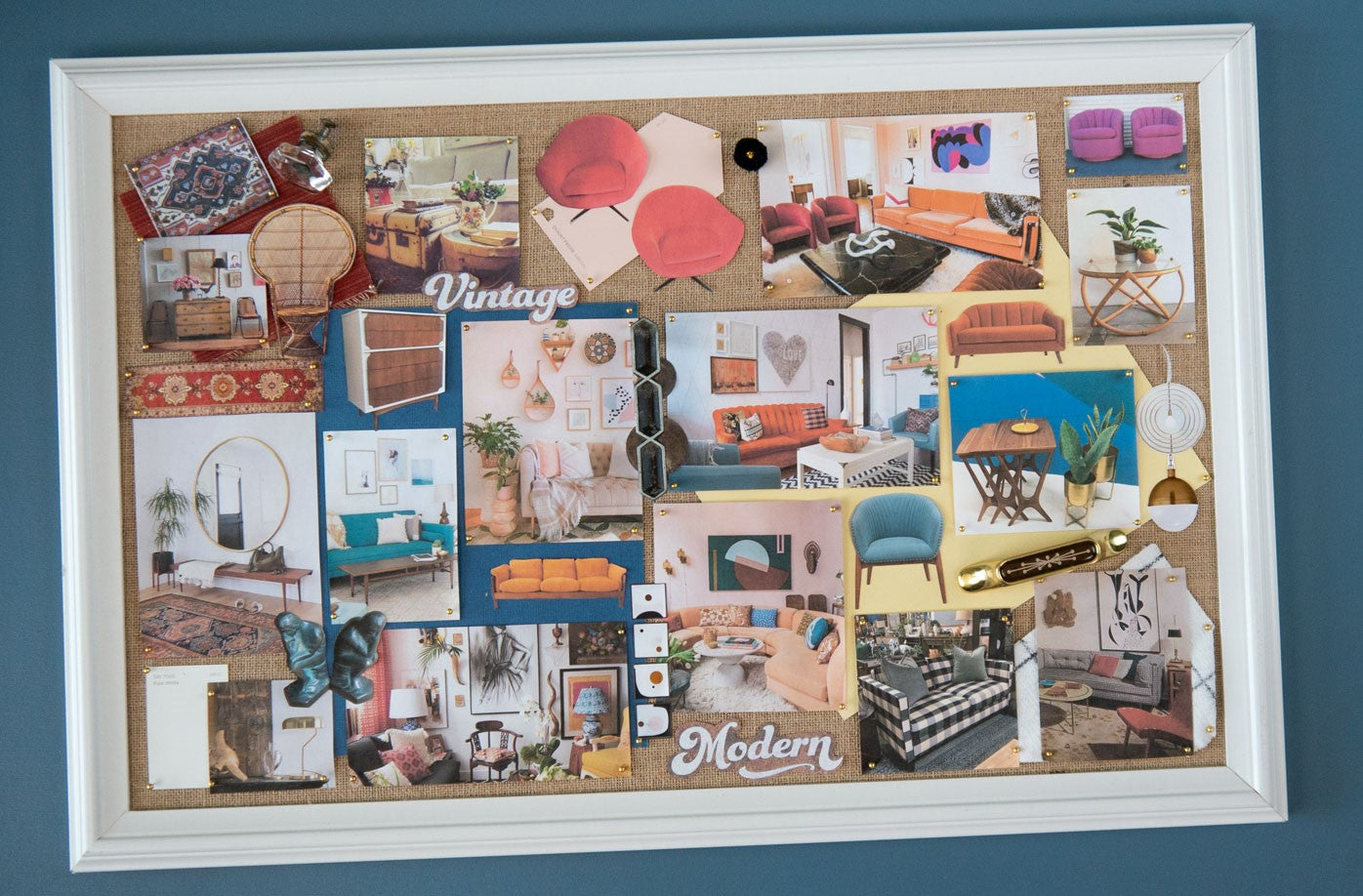 Trove Table Talk: Modern and Vintage Mood Board