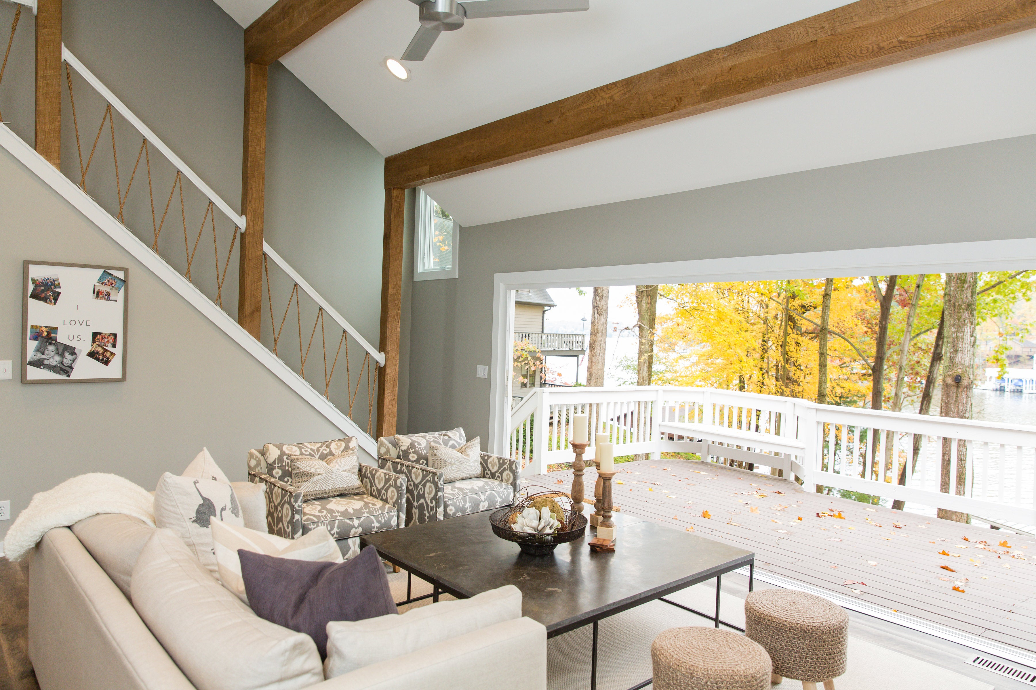 From blueprints to a lake house full of life trove warehouse they purchased this 3 bed1 bath home earlier this year and set out to completely re design it before memorial day with the help of their architect and malvernweather Choice Image