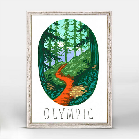 National Parks Mini Print - Olympic