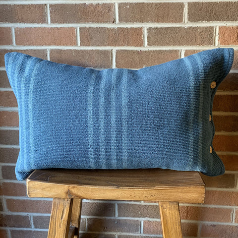 "16"" x 26"" Pillow Blue"