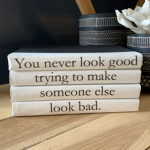 """You Never Look Good"" Book Set"