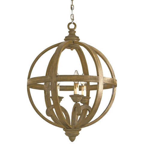 Axel Orb Chandelier