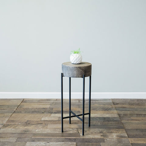 Bryce Accent Table- Large Grey
