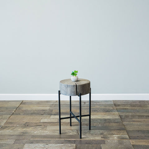 Bryce Accent Table- Small Grey