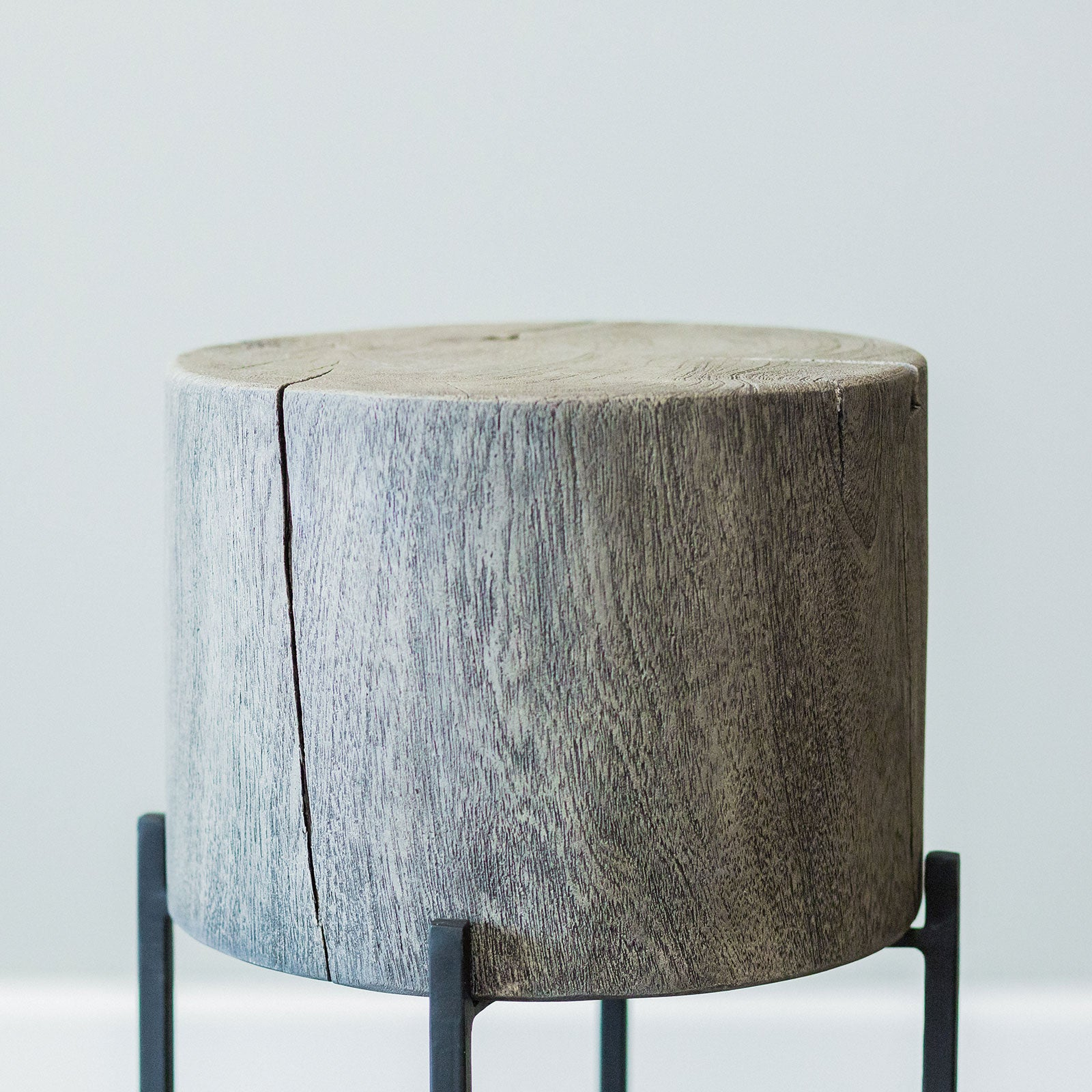 Catalina Accent Table- Grey