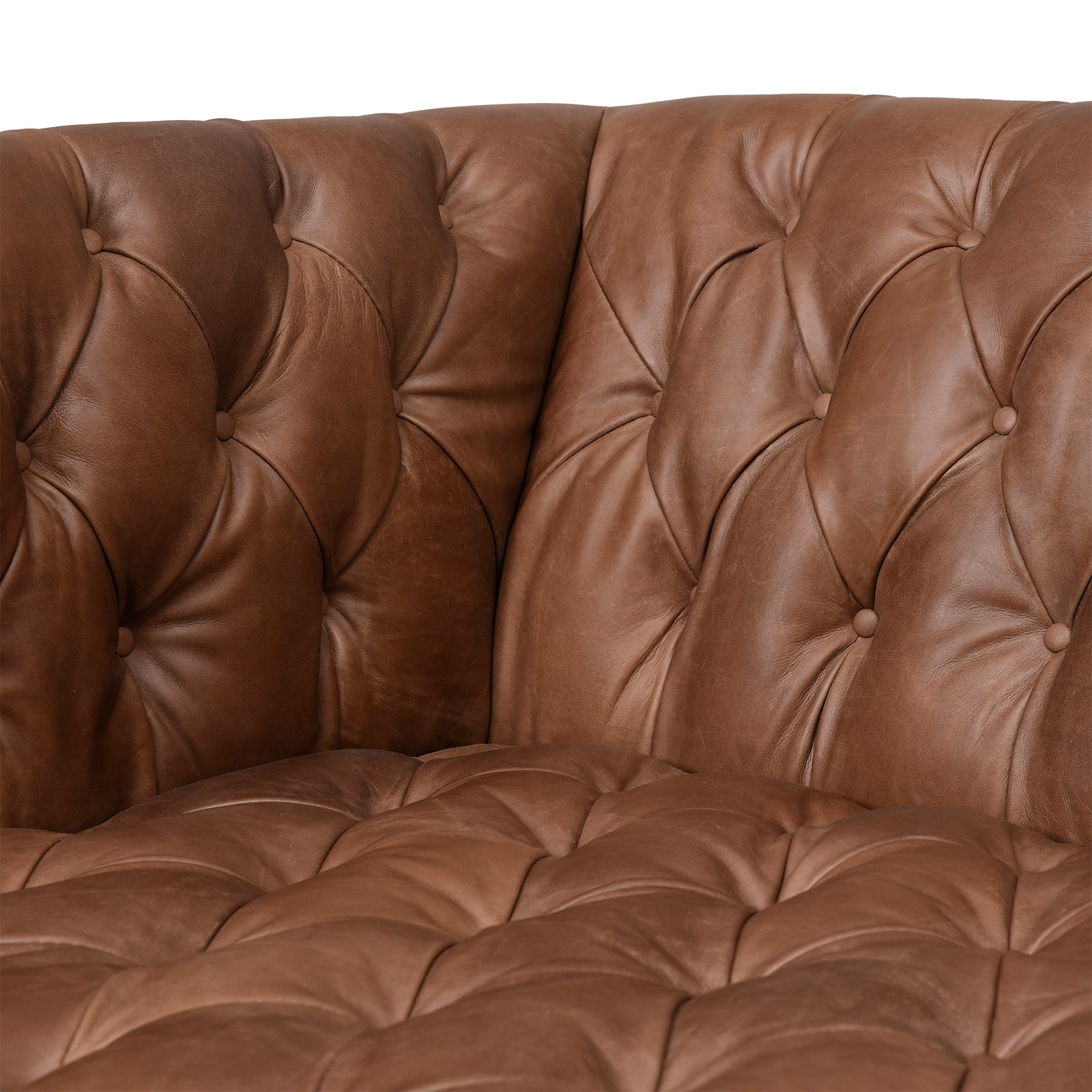 Fairbanks Leather Sofa