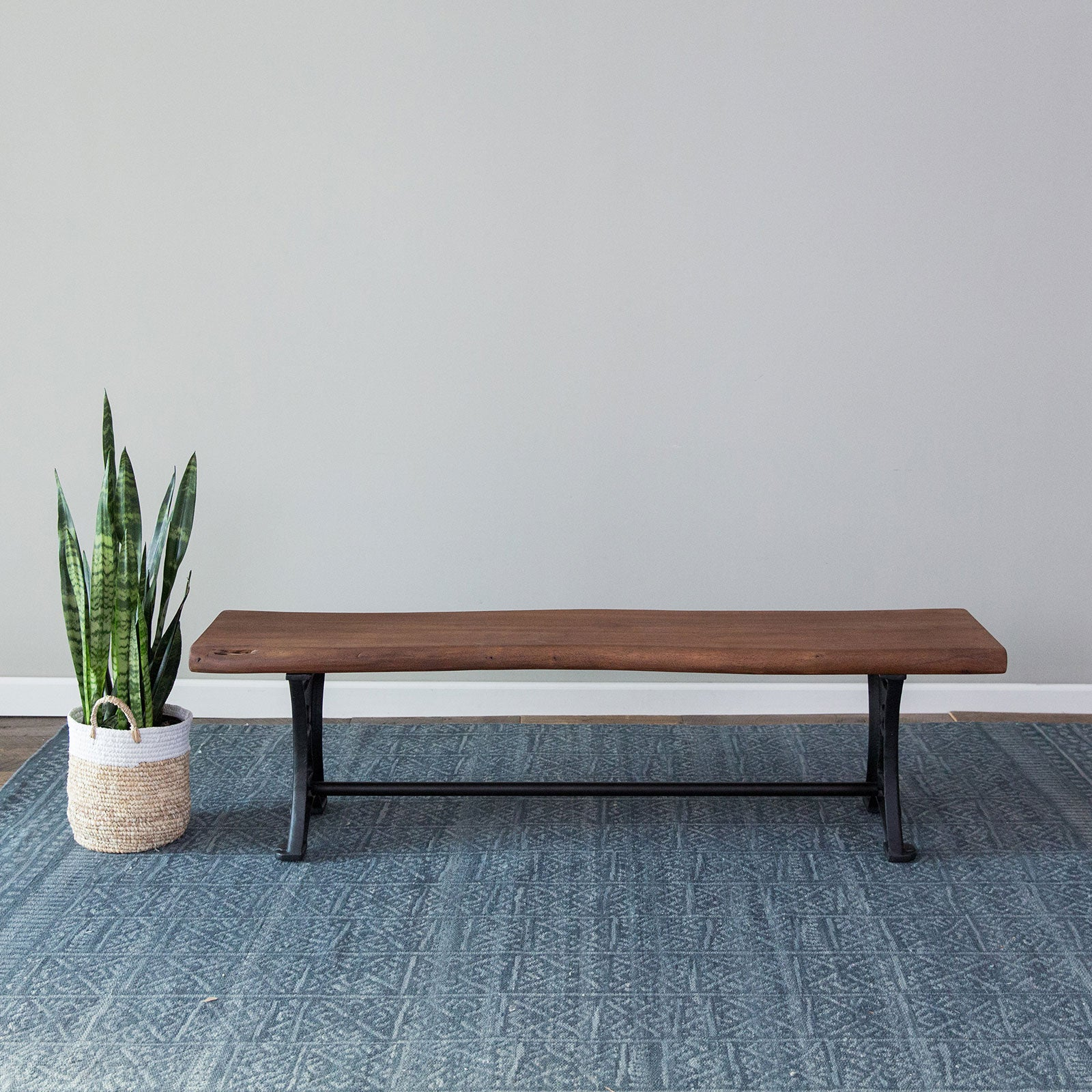 Foundry Dining Bench- Chestnut