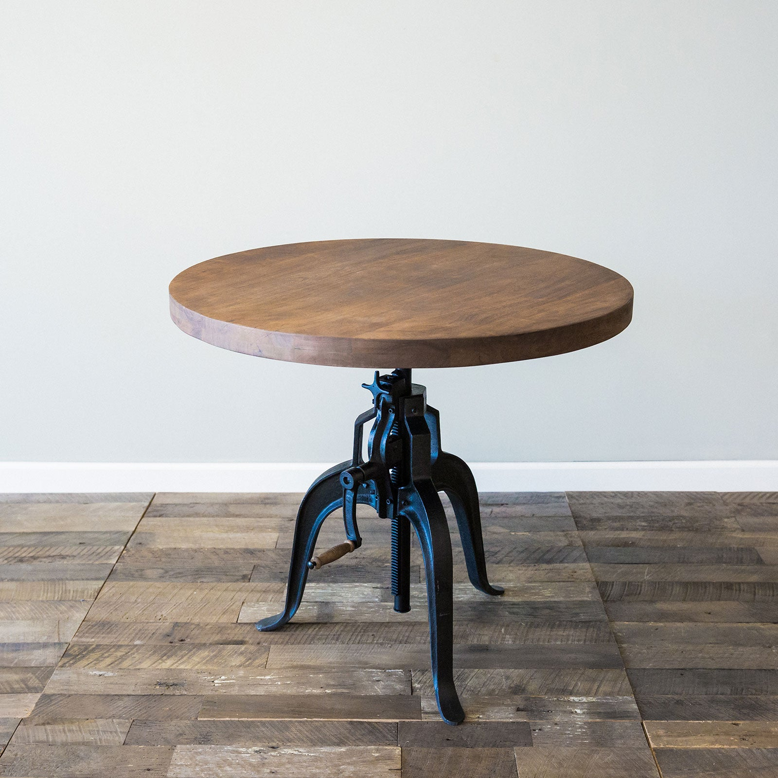Foundry Crank Bistro Table  Chestnut