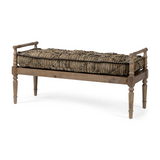 Frannie Wood Base Bench