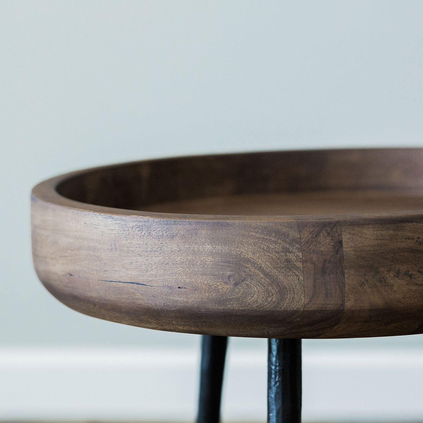 Fyfe Side Table- Small Chestnut