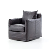 Hyde Swivel Chair - Rider Black